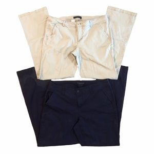 AEROPOSTALE bundle of classic twill pants